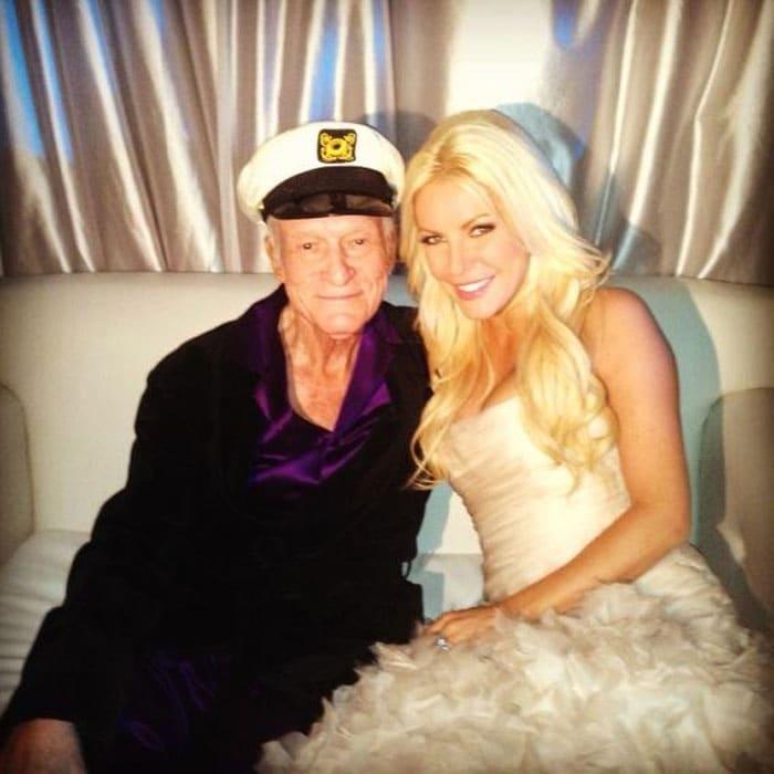 86-year-old Hugh Hefner\'s new 26-year-old bride