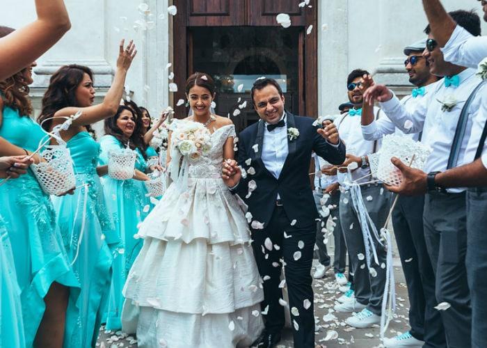 6 Pics From Surveen Chawla\'s Italian Wedding