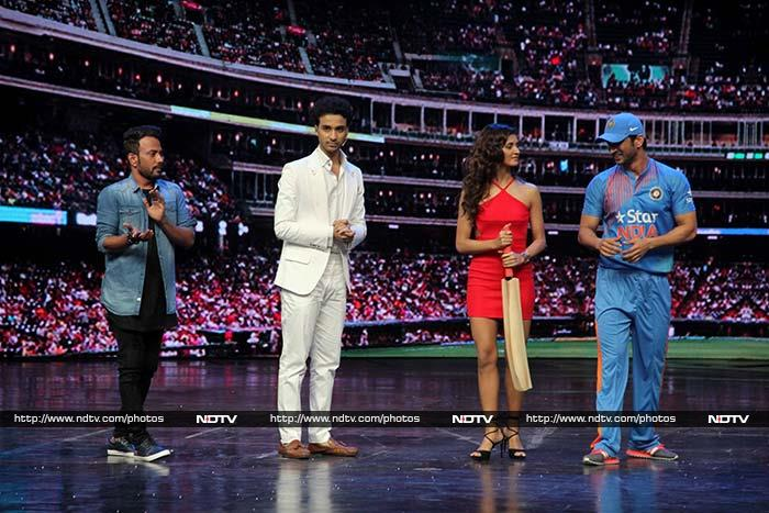 Sushant Has Aced Dhoni\'s Signature Shot