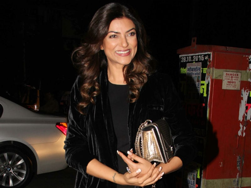 Sushmita Sen, Ayesha Takia, Shriya Saran Are Dine-Out Buddies