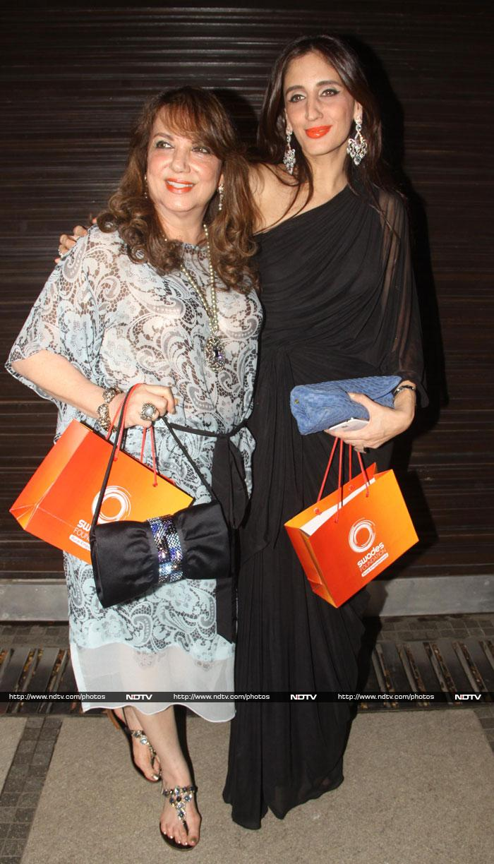 Sridevi, Kangana at Sussanne\'s sister\'s party
