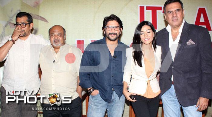 Men in blue: Sushant, Arshad, Ayushmann