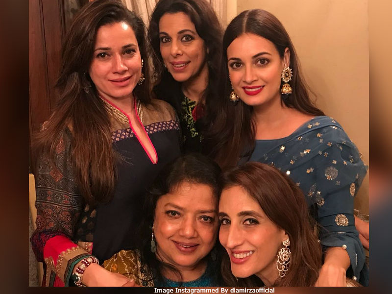 Inside Sussanne, Dia And Pooja Bedi's Eid Ki Party