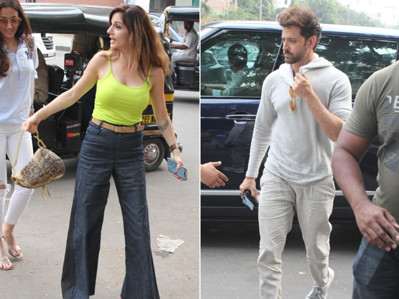 Sussanne Khan And Hrithik Roshan's Day Out