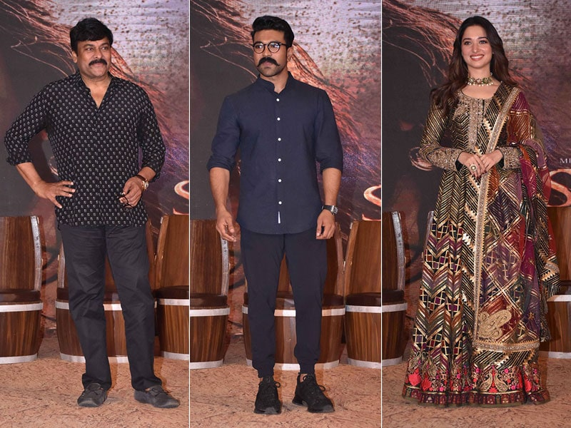 Inside Sye Raa Narasimha Reddy Teaser Launch With Chiranjeevi, Ram Charan And Tamannaah