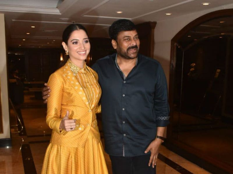 Chiranjeevi And Tamannaah Get Busy With Sye Raa Narasimha Reddy
