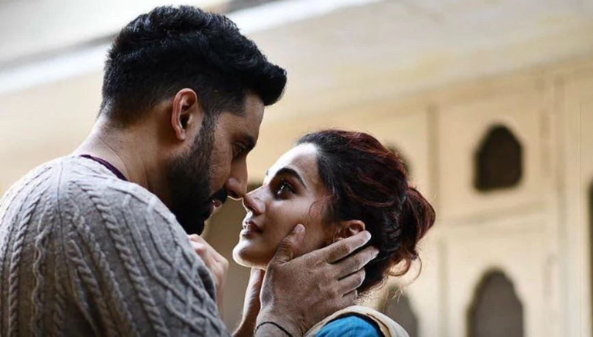 Taapsee Pannu began 2018 with Dil Juunglee and starred opposite Diljit Dosanjh in sports-drama Soorma. Later, she featured in two Hindi films - courtroom drama Mulk, co-starring late actor Rishi Kapoor, and Anurag Kashyap\'s Manmarziyaan, in which she co-starred with Abhishek Bachchan and Vicky Kaushal.  This image was posted on Instagram by Taapsee Pannu