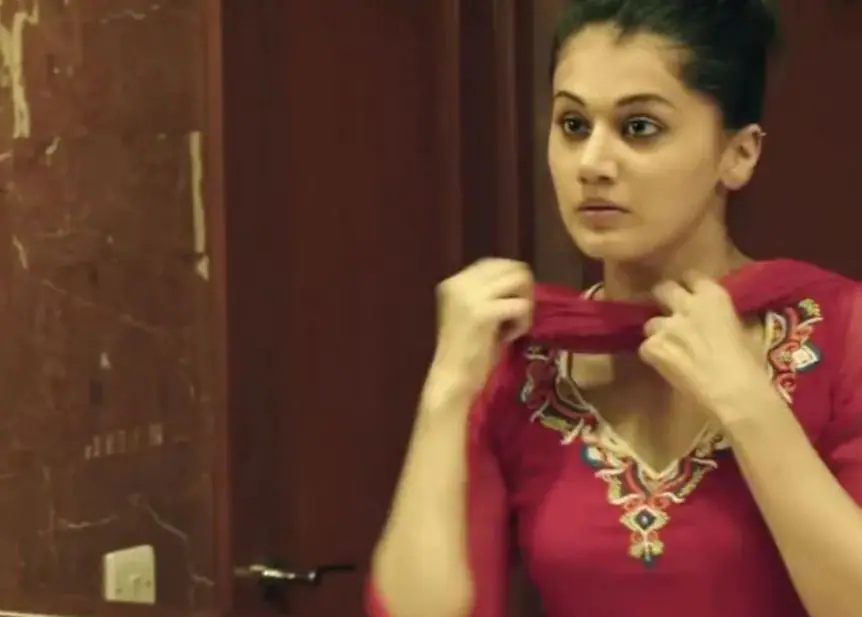 2015 was a big year for Taapsee, courtesy the Neeraj Pandey-directed Baby and the Aishwaryaa R Dhanush-directed Vai Raja Vai. She also starred in Raghava Lawrence\'s Kanchana 2. (Image courtesy YouTube)