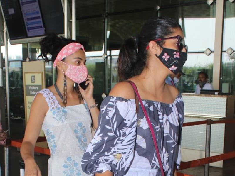 Photo : मुंबई एयरपोर्ट पर स्पॉट किए गई ये सितारें