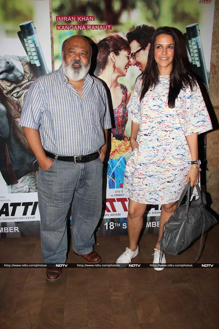Sonam, Richa, Aditi Watch Katti Batti