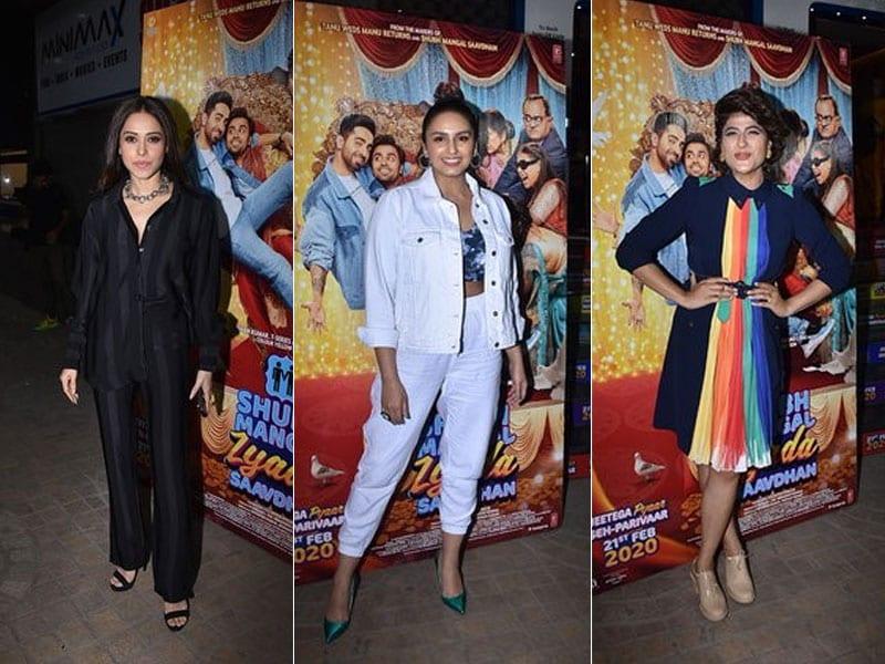 See Who Ayushmann Khurrana And Neena Gupta Invited To Watch Shubh Mangal Zyada Saavdhan