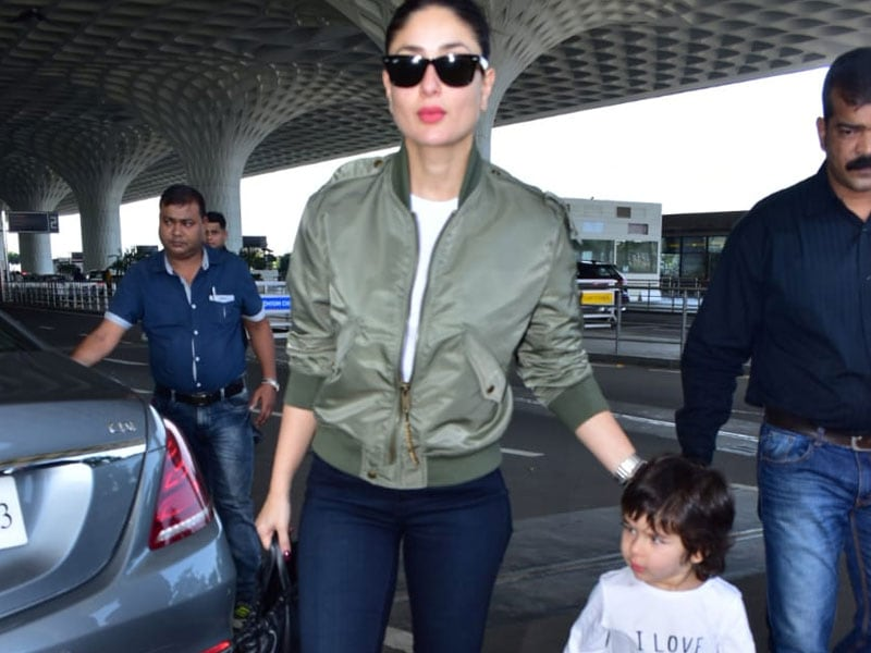 Kareena Kapoor And Taimur's Airport Dairies