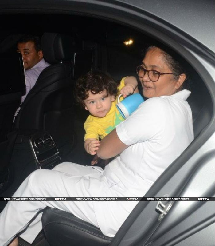 Taimur And Laksshya Hang Out For A Play Date