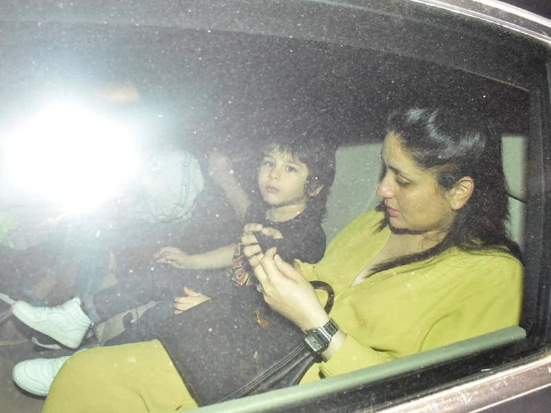 Taimur's Day Out With Mom Kareena Kapoor