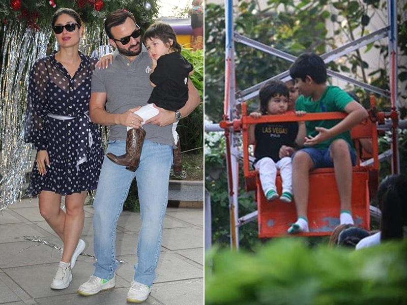 How Kareena Kapoor And Saif Ali Khan Celebrated Son Taimur's Birthday