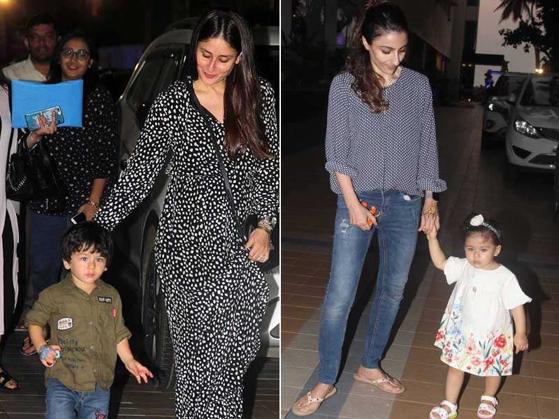 Taimur And Inaaya Attend Friend's Birthday Bash