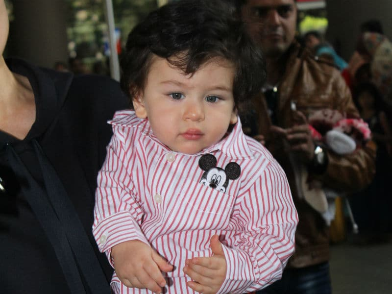 Baby Taimur, Welcome Back