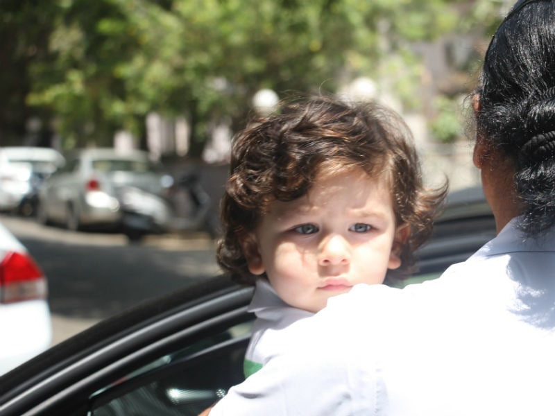 Baby's Day Out With Taimur