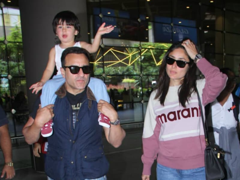 Taimur Waving At Airport Paps Is Just The Dose Of Cuteness You Need