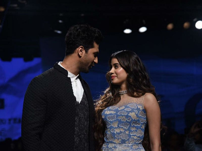 Lakme Fashion Week: Vicky Kaushal And Janhvi Kapoor Ruled The Runway On Day 1
