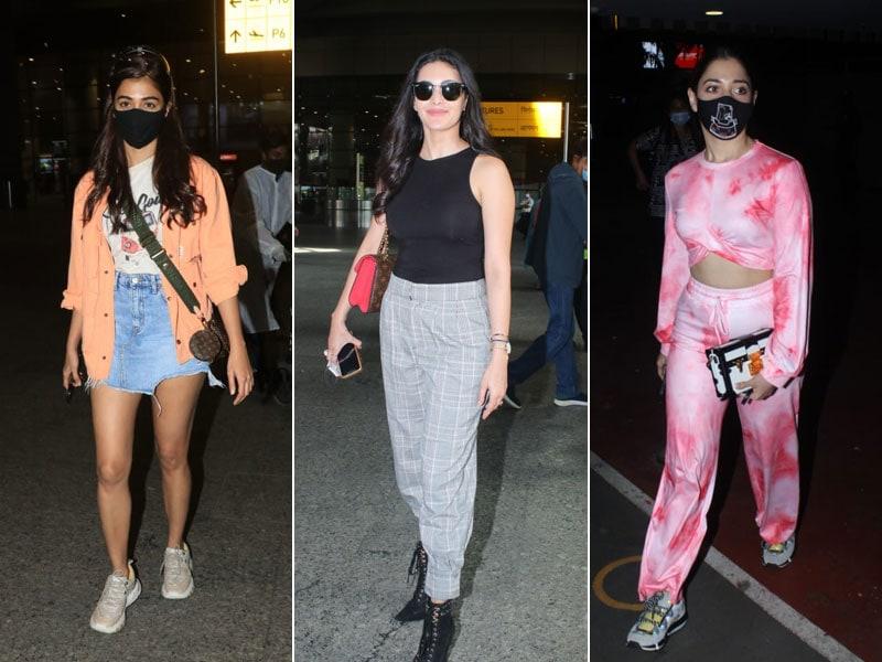 Photo : एयरपोर्ट पर नजर आईं तमन्ना भाटिया, पूजा हेगड़े और अम्यरा दस्तूर