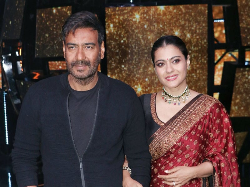 Kajol And Ajay Devgn Light Up The Sets Of Indian Idol