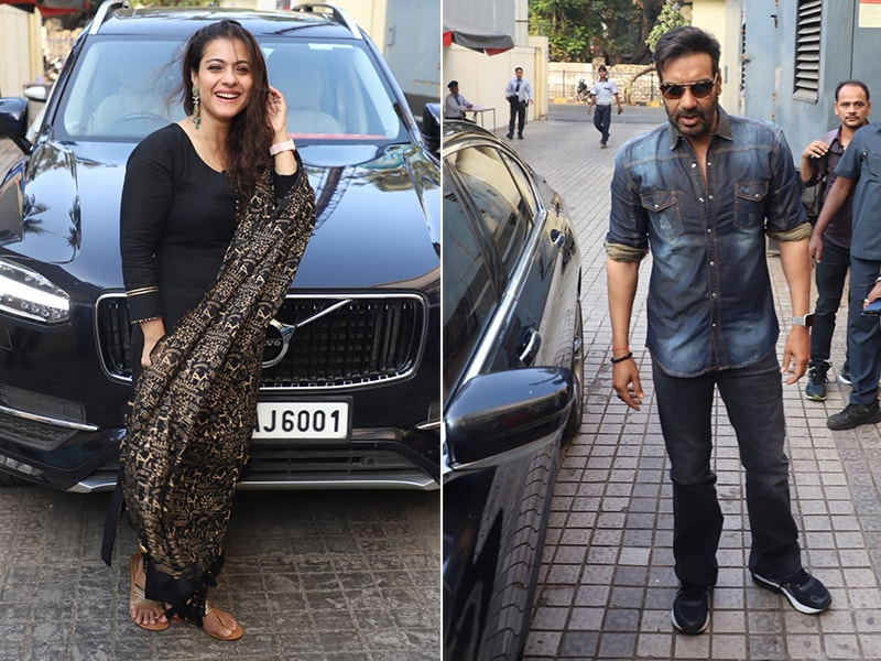 Kajol And Ajay Devgn Host Tanhaji Screening For Family And Friends