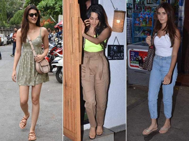 Tara, Kiara and Kriti's Busy Monday Routine
