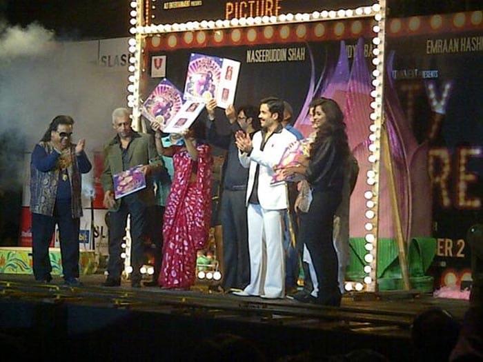 Ooh la la: Vidya paints The Dirty Picture