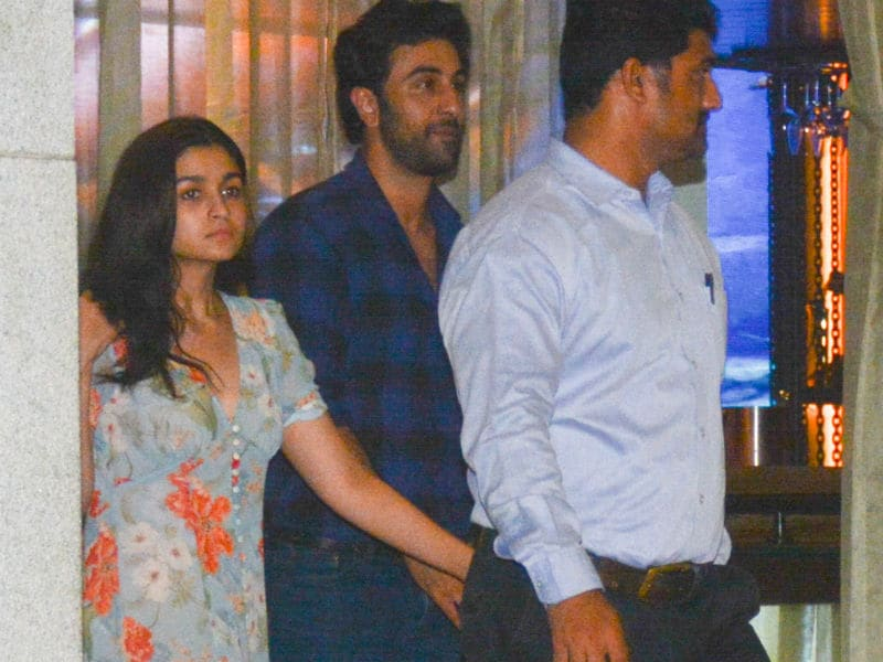 Alia And Ranbir Had Some Catching Up To Do