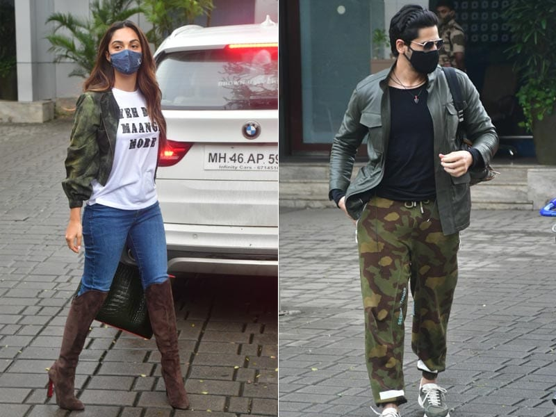 Photo : Kiara And Sidharth's Airport Looks Are Just Too Cool