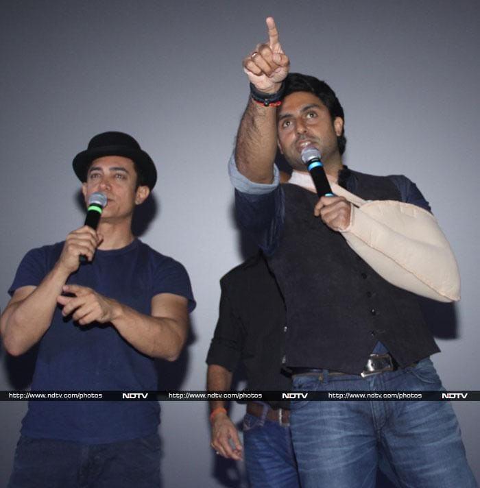 Aamir, Abhishek and the temple of Dhoom