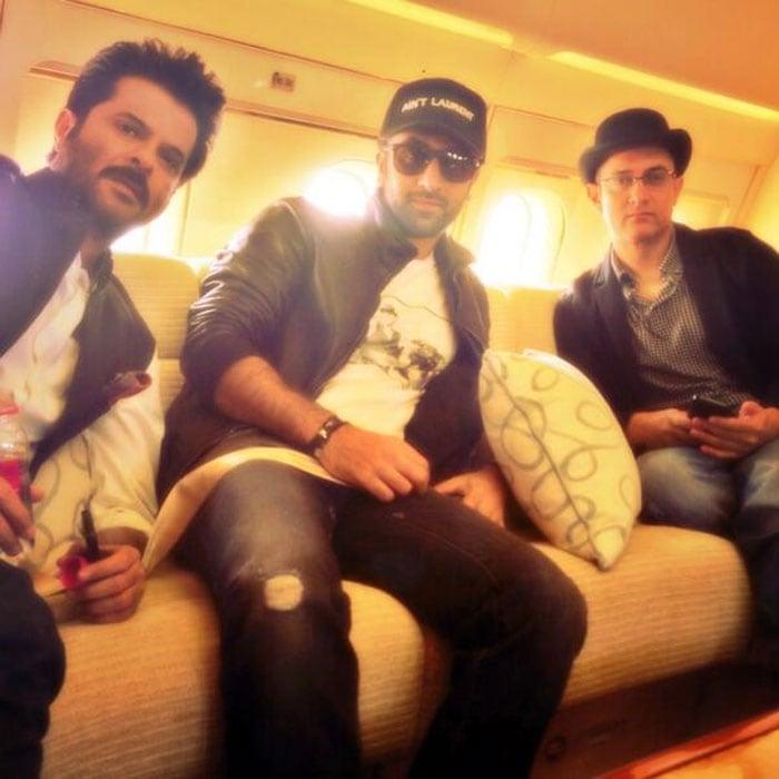 Travelling light: Anil, Ranbir, Aamir