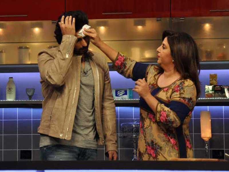 Can't Handle the Heat in Farah's Kitchen, Arjun?