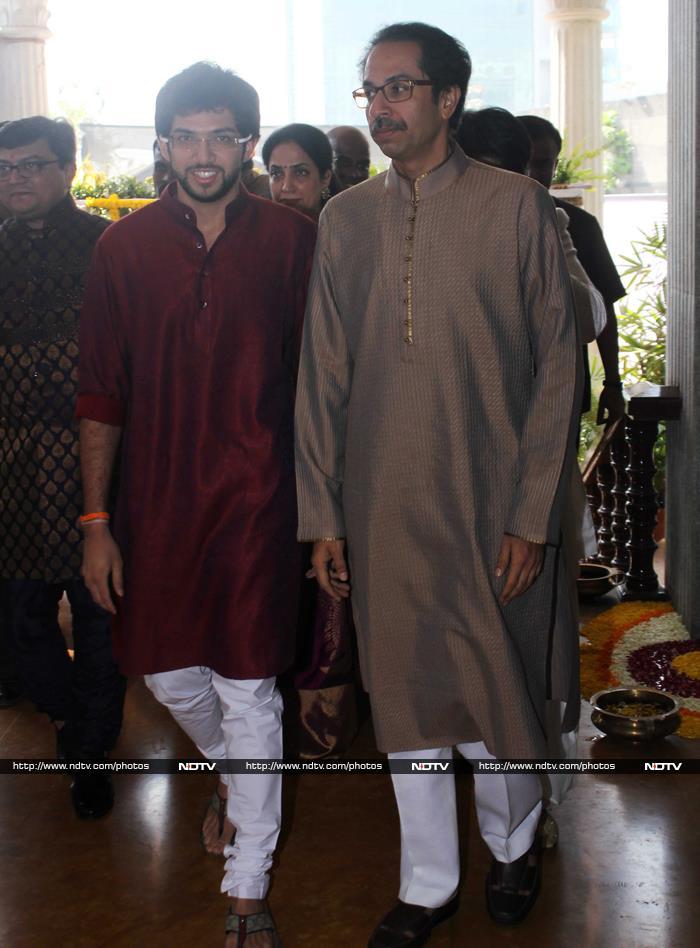 Thackerays Unite for  Bahu Smita\'s Son\'s Wedding
