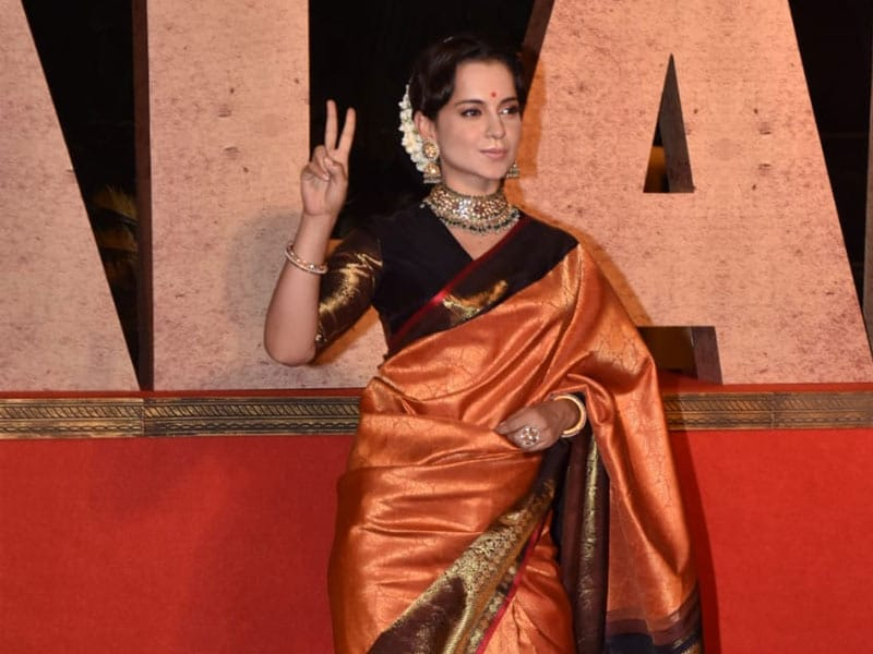 Photo : कंगना रनौत को मुंबई हवाई अड्डे पर भी देखा गया था.