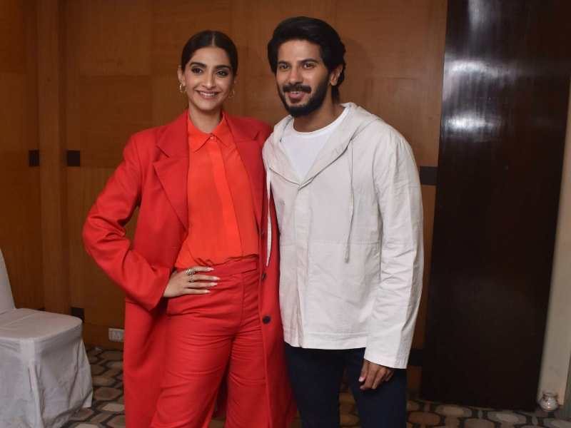 Sonam Kapoor, Dulquer Salmaan Paint The Town Red