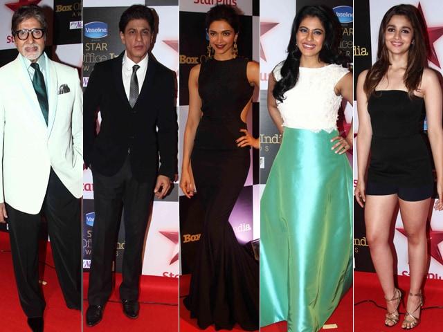 Photo : Box Office Bosses: Big B, Shah Rukh Khan, Deepika Padukone, Kajol, Alia Bhatt