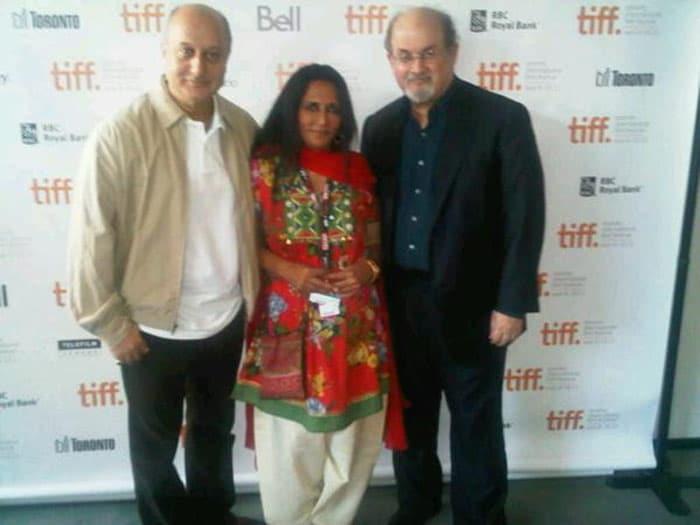 Anupam Kher at TIFF