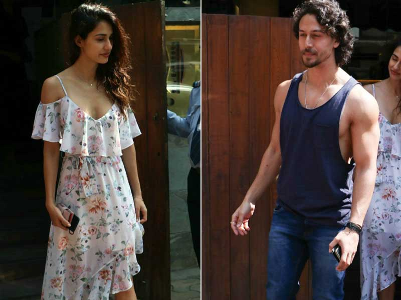 Tiger Shroff And Disha Patani Spotted On A Lunch Date