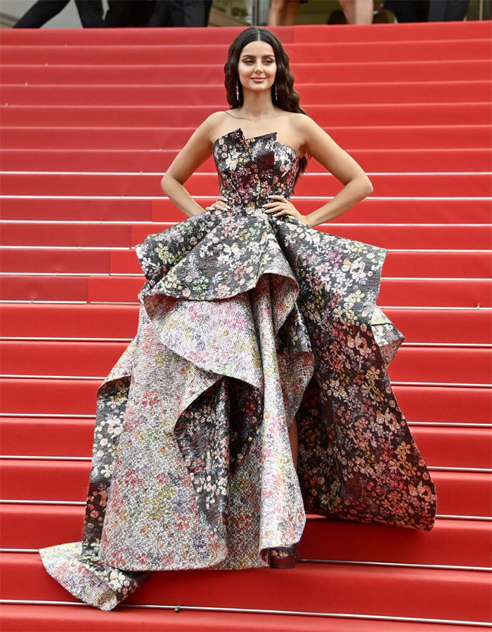 Cannes: Mahlagha, Timothee\'s Red Carpet Style Was Prints, Gold And More