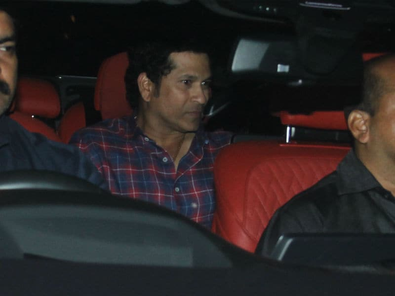 Sachin Tendulkar, Anjali, Kiran Rao, Imran Khan Watch Thugs Of Hindostan