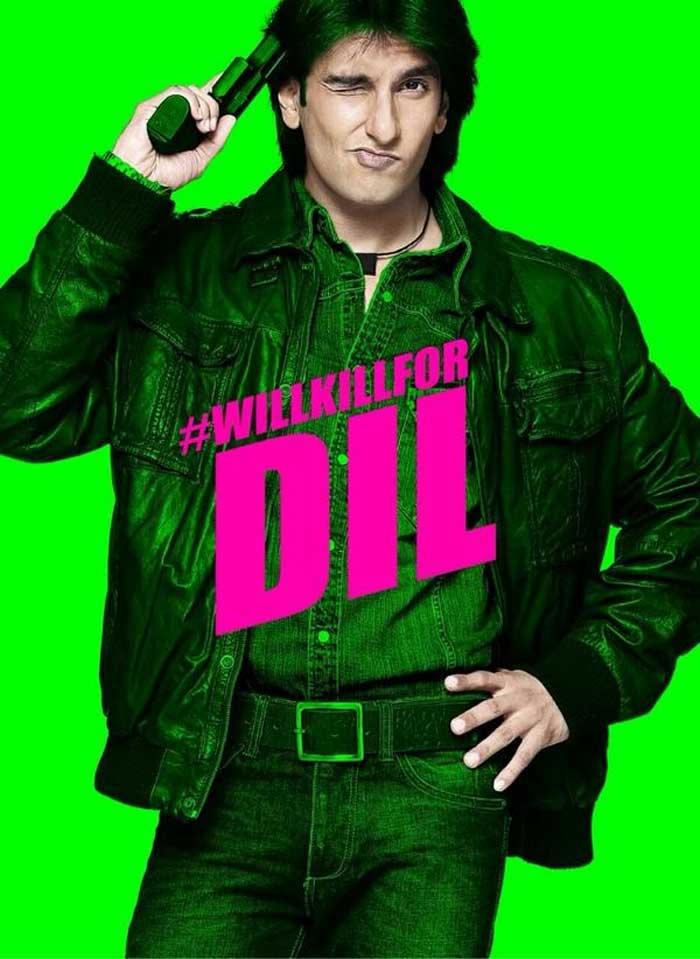 Revealed: Ranveer Singh\'s New Look in Kill Dil