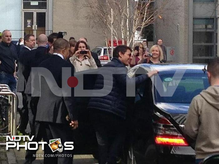 Ndtv.com exclusive: Tom Cruise, The Dubliner