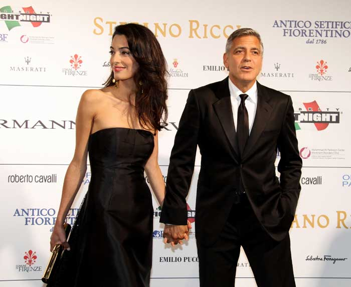Out in the Open: George Clooney, Amal Alamuddin