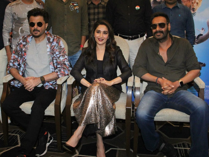Madhuri Dixit, Ajay Devgn And Anil Kapoor Take Over Mumbai With Total Dhamaal