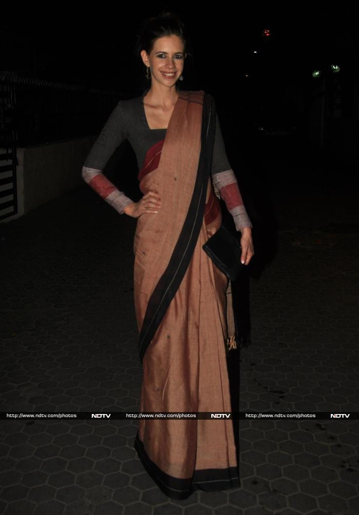 Kalki Koechin, Raveena Tandon\'s Traditional Style