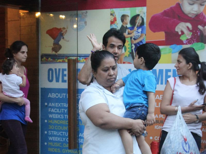 A Day In The Lives of Tusshar Kapoor And Laksshya