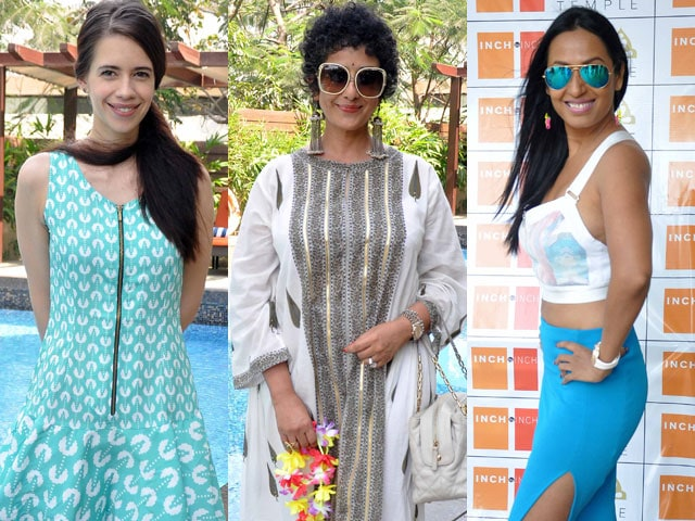 Sunday brunch buddies: Kalki, Manisha, Kashmira