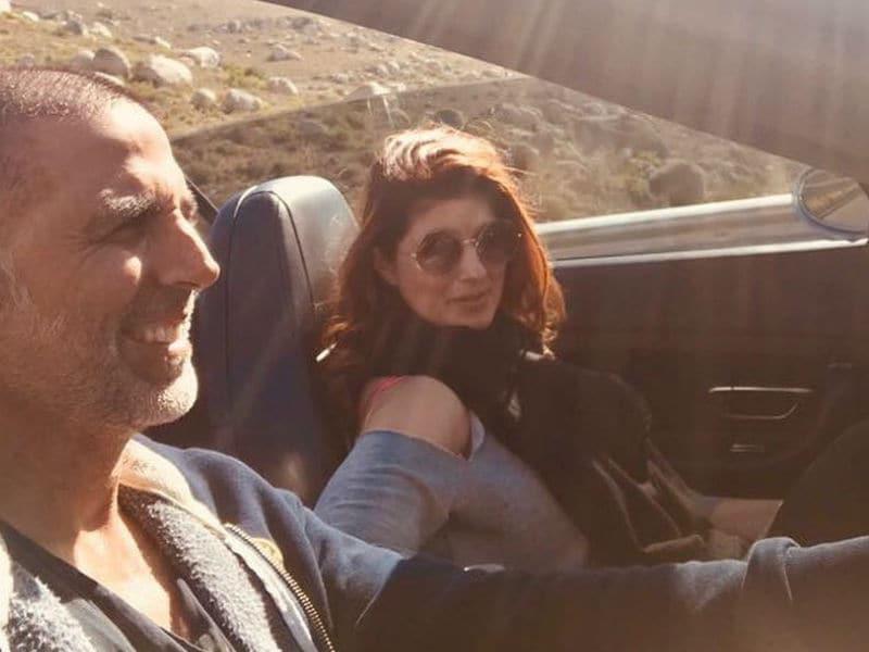 Inside Akshay Kumar, Twinkle Khanna's Sun And Sea Vacation